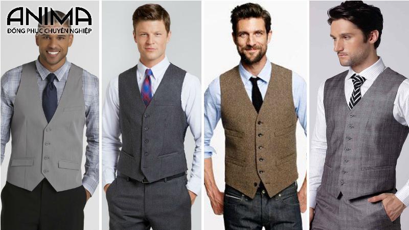 Gile nam giúp trang phục trở nên sang trọng và nổi bật hơn
