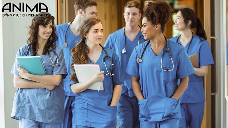 Đồng phục ý tá diều dưỡng bệnh viện