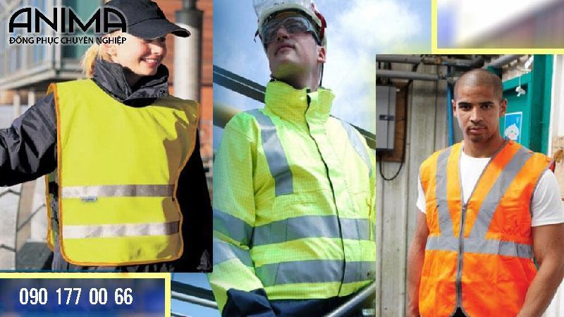 Gi lê đồng phục bảo hộ lao động với các mẫu thiết kế